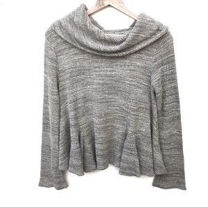 Anthropologie Postmark Cowl Neck Maurisa Sweater